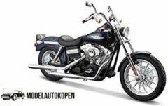 Harley-Davidson Harley Davidson FXDBI Dyna Street Bob 2006 (Donkerblauw) 1/12 Maisto - Modelmotor - Schaal model - Model motor - harley davidson schaalmodel
