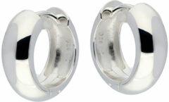 Best Basics Zilveren Oorbellen Klapcreolen 16 x 6 mm 107.0104.16