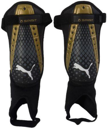 Afbeelding van Puma King Spirit scheenbeschermers zwart/goud
