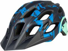 Azuurblauwe Endura Hummvee helm - Helmen