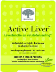 New Nordic Active liver 60 Capsules