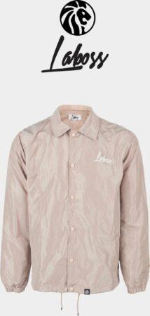 Afbeelding van Laboss Clothing Laboss Windafstotend Coach Jacket Beige - Unisex - Maat L