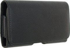 Zwarte Xccess Universal Horizontal Holster with Rotating Clip 5.5 inch Black