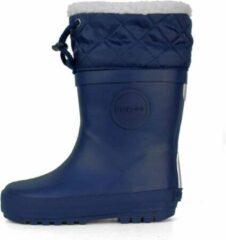 Druppies Regenlaarzen Gevoerd - Winter Boot - Donkerblauw - Maat 38