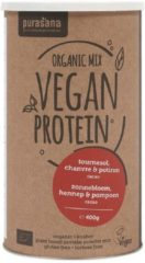 Purasana Vegan protein mix pumpkin sunflower hemp cacao 400 Gram