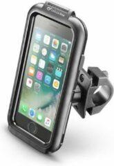 Zwarte Interphone - iPhone 6s Plus / 7 Plus iCase Houder Stevige Motorhouder Stuur