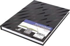 Kangaro K-5585 Dummyboek A5 Blanco Hard Cover 80 Blad 140grs Zwart Design