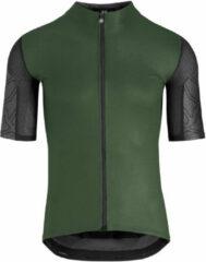 Groene Assos XC fietstrui (korte mouwen) - Fietstruien