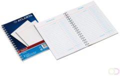 Bruna Kasboek Atlanta 2181072000 207x147mm met zijspiraal