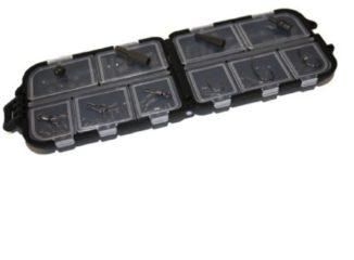 Zwarte FISH-XPRO End Tackle Set - Karperset - Onderlijnen Karper - Onderlijn - Onderlijnmateriaal - Swivel - Vishaak - Karperlood - Wartels