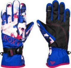 Blauwe Roxy Jettys Wintersporthandschoenen Dames - Maat M