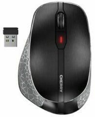 Grijze CHERRY MW 8 ERGO muis Rechtshandig RF draadloos + Bluetooth Optisch 3200 DPI