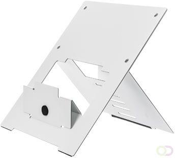 Afbeelding van Ergonomische laptopstandaard R-Go Tools Riser wit