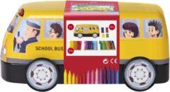 "Faber-Castell Faber Castell FC-155532 Viltstiften 33 Stuks met 10 Clips in ""Bus"""