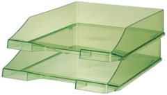 HAN 1026-X-27 KLASSIK Brievenbakje DIN A4, DIN C4 Transparant, Groen 1 stuks