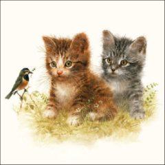 Ambiente Servetten Kitten Friend 33cm