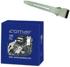 Zwarte Comair Metalen clips spitsvormig kort 20 stuks