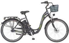 Elektrofahrrad 'Alu City Comfort' mit 3 Gängen und Korb Didi Thurau Edition graphitgrau