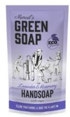 Marcel's Green Soap Marcel's groen Soap Handzeep Lavendel&Rozemarijn Navul Stazak 500 ml