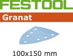 Festool Schuurblad delta 100x150mm Granat P320