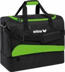 Erima Club 1900 2.0 Sporttas met Bodemvak Small - groen Gecko/Zwart