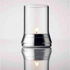 Roestvrijstalen Menu Waxinelichthouder - Flame design