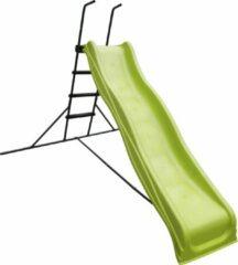 AXI Vrijstaande Glijbaan 220cm - Limoen groen / Antraciet
