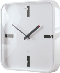 Sigel Artetempus Mezo - Klok - Vierkant - Kunststof - 35x35 cm - Wit