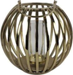 Luxury Label Windlicht Macey 41 X 39 Cm Staal Goud