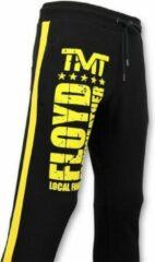 Local Fanatic Exclusieve Trainingsbroek Heren - Floyd Mayweather Sweatpants - Zwart - Maten: M