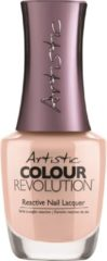 Beige Artistic Nail Design Colour Revolution 'Gorgeous in Gossamer'