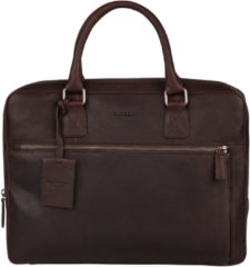 Burkely Antique Avery Laptopbag 13.3'' dark brown