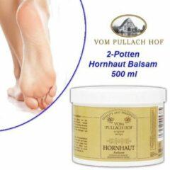 Pullach hof 2-Potten Hornhaut Balsam 500 ml