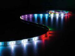 Rode Vellight KIT MET DIGITAAL GEANIMEERDE LED-STRIP, CONTROLLER EN VOEDING - RGB - 150 LEDs - 5 m - 12 VDC