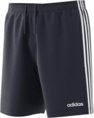 Witte Adidas Essentials 3S Chelsea Heren Sportbroek - Legend Ink/White - Maat S