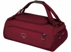 Rode Osprey Daylite Duffel 45 cosmic red Handbagage koffer