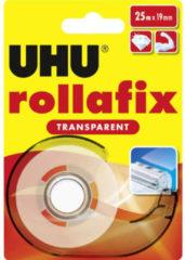 UHU Plakband Transparant (l x b) 25 m x 19 mm Inhoud: 1 rollen