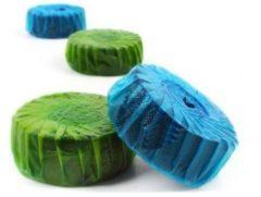 Star Blue Disc StarBlueDisc toiletblokjes halfjaarverpakking doosinhoud 12 stuks, groen