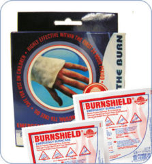 Burnshield Twin Pack Sterile Brandwondencompres 10x10cm