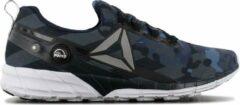 Blauwe Reebok PUMP Zpump Fusion 2.5 Stripes - Heren Sneakers Sportschoenen schoenen Camouflage AR3018 - Maat EU 44.5 UK 10