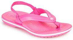 Roze Teenslippers Crocs CROCBAND STRAP FLIP K