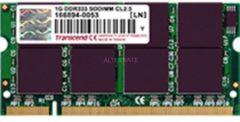 Transcend SO-DIMM 1 GB DDR-333, Arbeitsspeicher