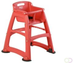 Sturdy Chair Kinderstoel Rubbermaid, rood