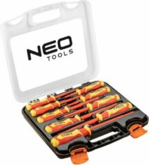 Oranje Neo tools NEO schroevendraaier set 1000V, 9 stuks (04-142)