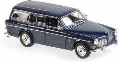Donkerblauwe Volvo 121 Amazon Break 1966 - 1:43 - MaXichamps