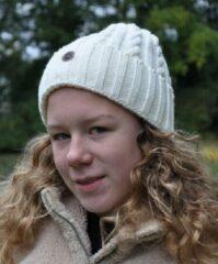 Piri Sport Hats & Co beanie voor de moderne vrouw - kleur ivoor