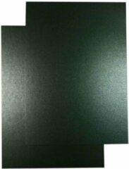 Antraciet-grijze Top-Hobby Luxe A5 Karton - Metallic Parelmoer Antraciet – 14,8 x 21cm – 50 Stuks - voor het maken van o.a. kaarten, scrapbooking en heel veel andere creatieve doeleinden.