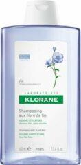 Klorane Shampoo with Flax Fiber Vrouwen Voor consument Shampoo 400ml