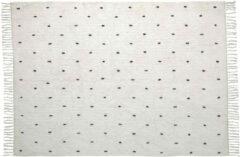 Kave Home Vloerkleed 'Meri' 140 x 200cm, kleur Wit