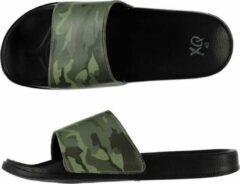 Zwarte Merkloos / Sans marque Badslippers/huisslippers met camouflage print voor heren 43